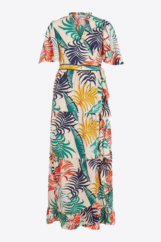 Co couture Bali Maxi Wrap Dress