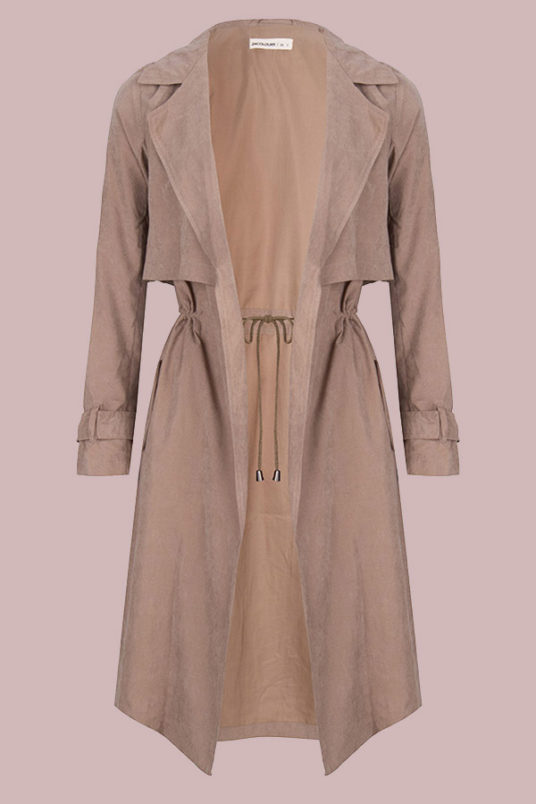 24Colours Trenchcoat Beige